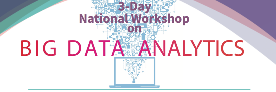3 Days Big Data Workshop in Conjunction with CVR College